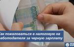 Черная зарплата: куда жаловаться на зарплату в конверте