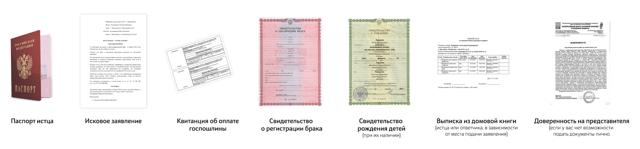 Развод через суд без присутствия супруга: необходимые документы, сроки, госпошлина