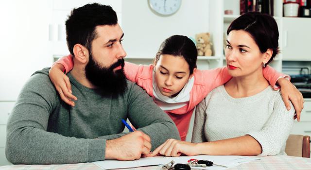 Развод супругов имеющих несовершеннолетних детей и ипотеку