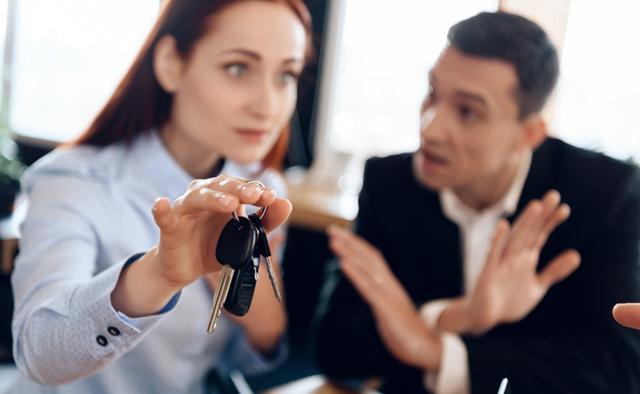 Как не делить машину при разводе: способы оставить машину себе при разводе